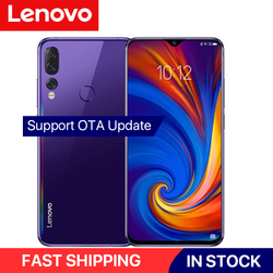 Перейти на Алиэкспресс и купить global version lenovo z5s snapdragon 710 octa core 4gb/6gb+64gb smartphone face id 6.3inch android p triple rear cameras