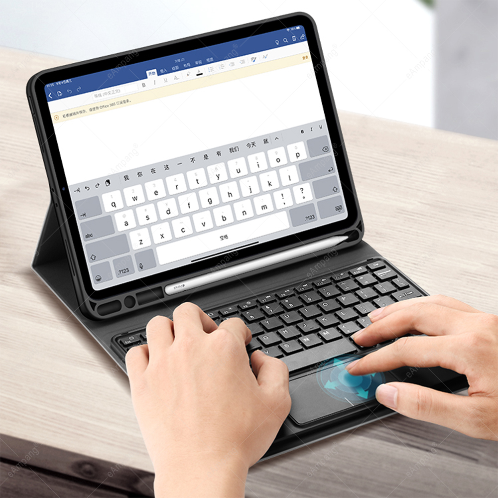 A2198 8th A2200 Backlit with Keyboard Generation For 7th 2019 Case A2232 Touchpad 10.2 iPad