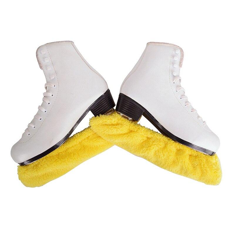 1 пара, уплотненный длинный флисовый чехол для катания на коньках и фигурных коньках, защита от ржавчины, водопоглощение, S M L XL XXL|Обувь для роликов|   | АлиЭкспресс