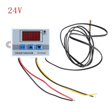 220V 12V 24V Digital LED Temperature Controller Thermostat Switch Probe Sens Drop Ship
