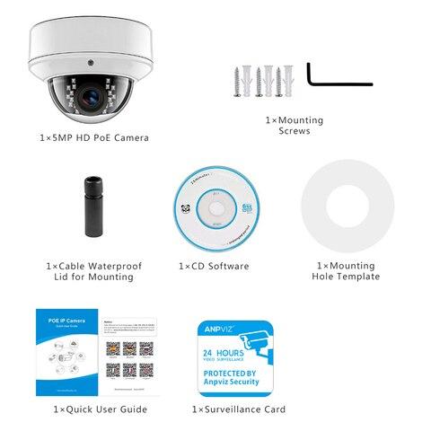 audio ip camera de seguranca dome ao