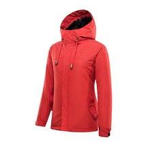 Женская пуховая куртка-дождевик средней длины, три в одном, водонепроницаемая Ветроустойчивая теплая верхняя куртка