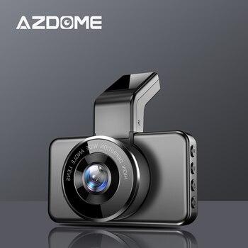 AZDOME M17 Dash Cam 1080P HD Night Vision ADAS Car Dash Camera WiFi DVR Dual Lens Car Camera 24H Parking Monitor dvr 1