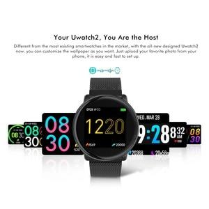 "Image 4 - Uwatch2 חכם שעון 1.33 ""IPS 240*240 תצוגת BT4.0 כושר מד צעדים קלוריות חכם טיימר לב קצב שינה Monitori שעוני יד"