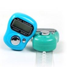 Finger Zähler für Muslimische Tragbare Mini LCD Elektronische Digitale Golf Hand Gehalten Tally mit Einzelhandel Paket 10 Stück