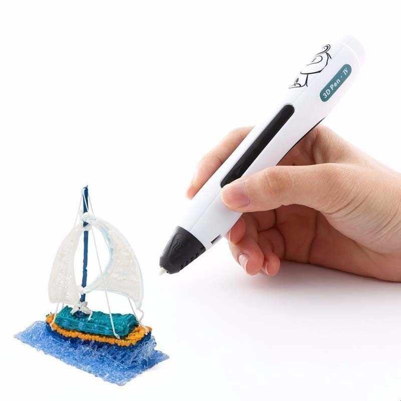 SUNLU SL-400A 3D การพิมพ์ปากกาต่ำอุณหภูมิปลอดภัยสำหรับเด็ก Scribble สนับสนุน 1.75mm PCL Filament ของขวัญใหม่กล่องชุด
