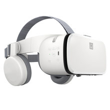 Realidade virtual original vr 3d estéreo óculos de vídeo sem fio bluetooth fone ouvido capacete para android ios samsung para xiaomi huawei