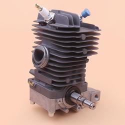 Kit de Base de carter de moteur de vilebrequin de Piston de cylindre de 49mm pour Stihl MS390 MS290 MS310 039 029 joint d'huile de tronçonneuse 1127 020 1216