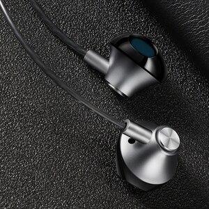 Image 5 - AZiMiYO auriculares metálicos de graves, cómodos auriculares internos con cancelación de ruido, micrófono de 3,5mm, Audio de alta resolución, auricular de media oreja
