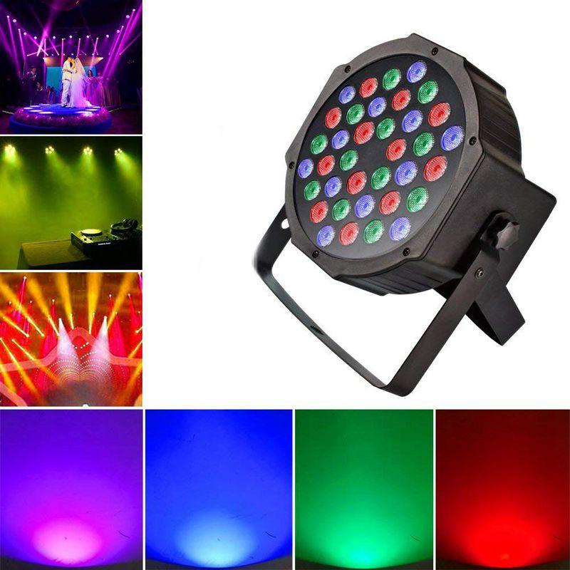 Promotion! DJ Up Lighting Wash Light With RGB-36 LEDs Stage Light Controlled DMX Control-Best For Karaoke Club Disco Bar Wedding