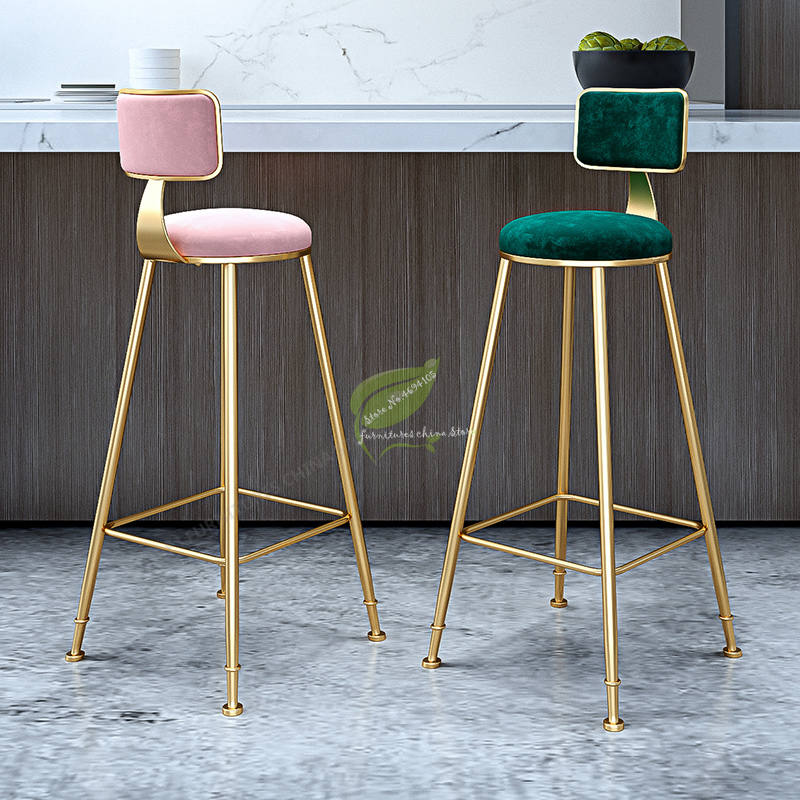 Stool Bar Tabouret De Bar Bar Stool Seat Bar Furniture Make Up Chair Beauty Salon Furniture Nordic Style Ins Simple Leisure