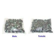 남성/여성 DC 전원 어댑터 5/10/50/100pcs CCTV 카메라 5050 3528 단색 LED 스트립 플러그 5.5mm x 2.1mm 커넥터