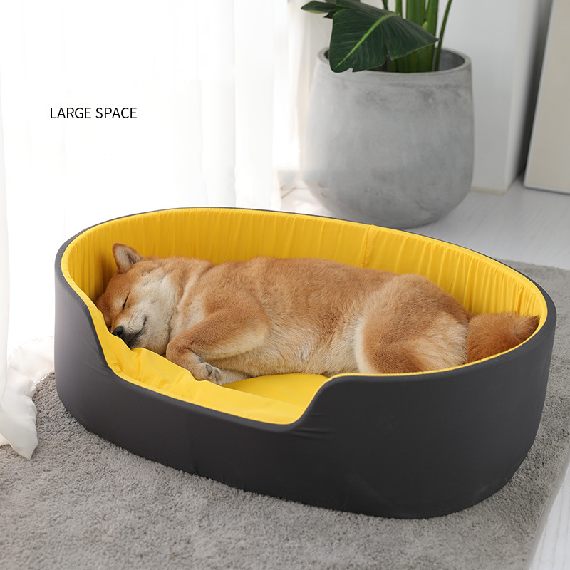 3D Washable Kennel Pet Bed Dog Cat House Dog Bed Large Dog Pet Supplies Puppy Dog Cushion Recliner Bench Sofa 1