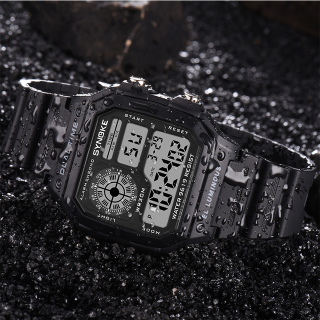 Count Down Waterproof Watch 4