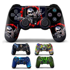 Stickers For PS4 Controller Joystick Vinyl Decal Skin Sticker Protector Skin Cover For Sony Playstation 4 For PS4 Slim Pro