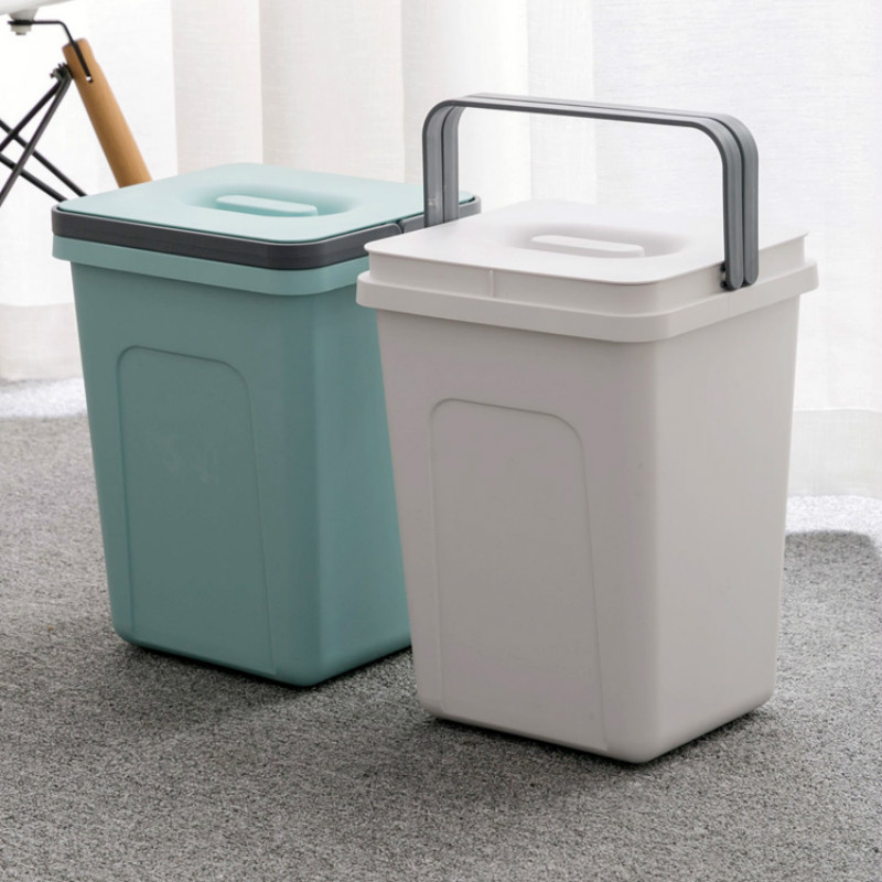 Thicken Large Plastic Trash Can Living