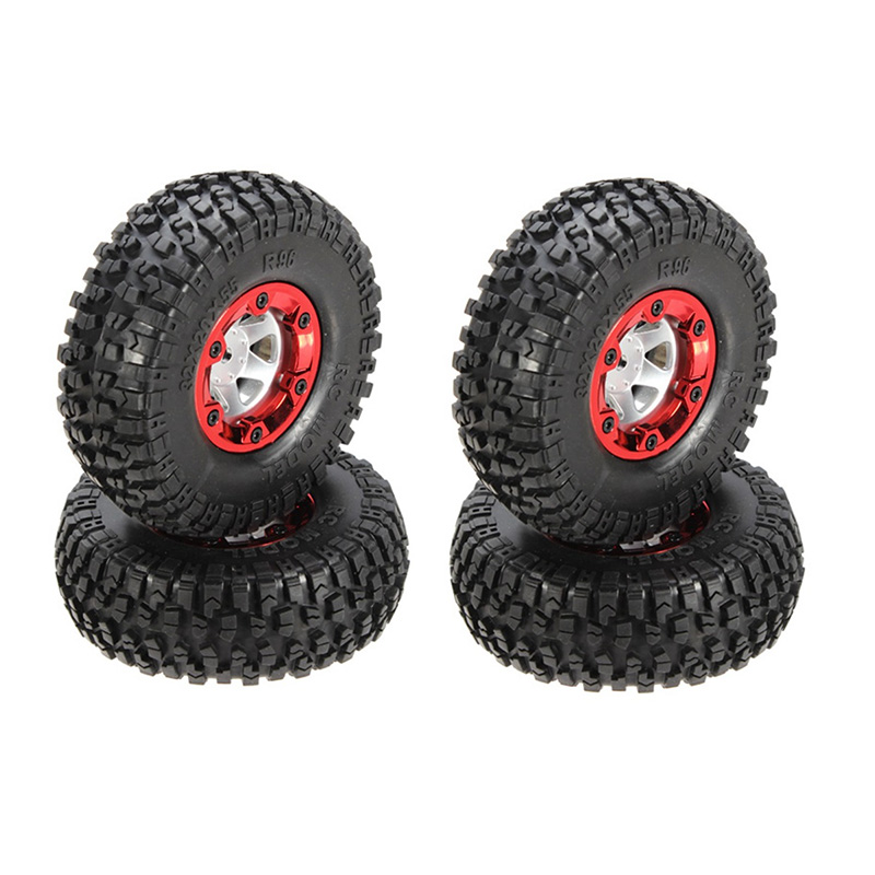 1:12 Tires With Hubs Wheel Racing Wheel Rim Tires Tyre For FY-CL01 1:12 RC Racing Car Truck RC Tires 4Pcs/Set