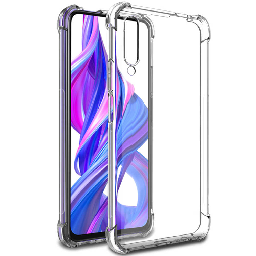 Ốp Lưng Silicone Dẻo Trong Suốt Cho Huawei Honor 6C Pro 10 20 8 Lite Nhẹ 20i 10i 9i 8C 9X 8X Pro ốp Lưng TPU Honor6C Pro Fundas