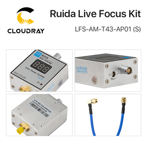 Image 4 - Cloudray LFS AM T43 AP01(S) Ruida metal cutting live focus system amplifier and amplifier connecting line for laser machine