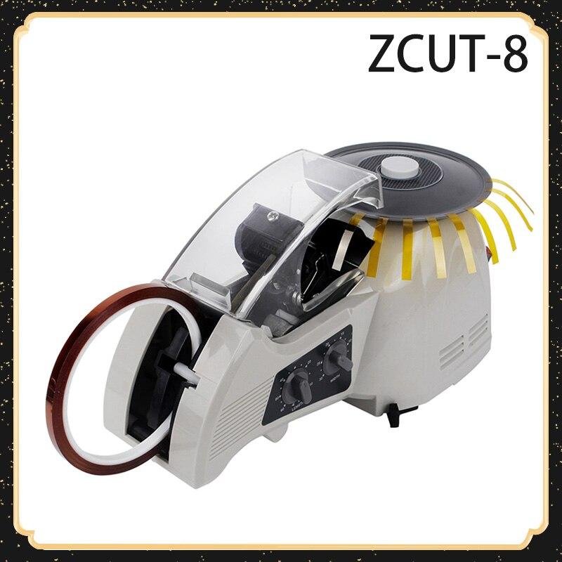 Dispensador de Fita Máquina de Fita Cortador de Fita Máquina de Selagem de Fita de Corte Elétrico Automático Adesiva Cortador Zcut-8