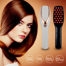 Massage-Comb Hairdressing-Styling Electric Magic Infrared Handheld Vibration Usb-Charging