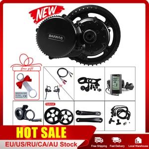 Image 1 - Bafang 8FUN BBS01B 36V 250W Midden Aandrijfmotor Conversie Kit Voor Racefiets Mountainbike Mid Drive Systeem met Lcd Display