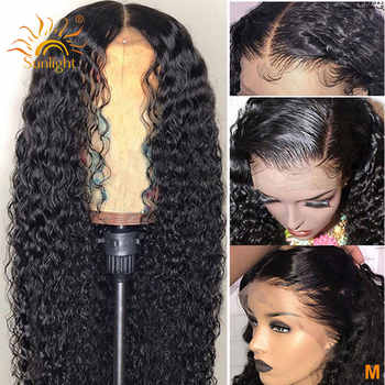 150 Density Water Wave Wig 360 Lace Frontal Wig Pre Plucked With Baby Hair Sunlight Peruvian Remy Human Hair Wigs For Women - Category 🛒 Hair Extensions & Wigs