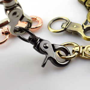 Metal Bag Buckle Key Ring Lobster Clasps Swivel Clips Snap Buckles Hooks(China)
