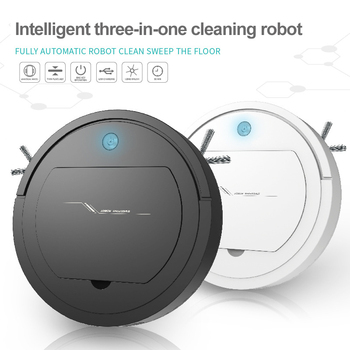 3 In 1 Robot Vacuum Cleaner Wireless USB Charging Smart Sweeping Robot Automatic Cleaning Sweeper Home Floor Sweeping Machine 3 in 1 robot vacuum cleaner usb rechargeable smart sweeping robot automatic sweeper strong suction home floor cleaning machine