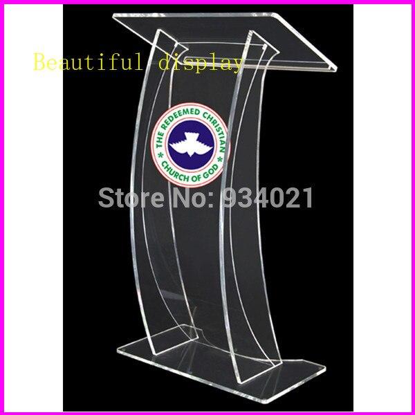 Church Podium, Acrylic Plastic Pulpit, Church Pulpit Designs