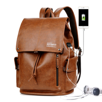 Casual Backpacks Large Capacity Preppy USB Charge School Bags Multifunction Laptop Bag Personlity Fashion Male Shoulder Bag