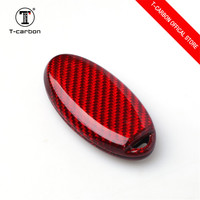 3 Or 4Buttons Carbon Fiber Car Key Case Cover For Nissan Qashqai J10 J11 X Trail t31 t32 Rogue Tiida Pathfinder Murano Note