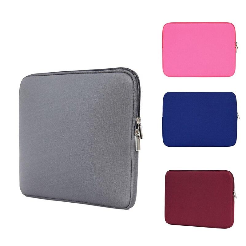 Zipper Computer Sleeve Case For Macbook Laptop AIR PRO Retina 11 13 14 15 Inch For Xiaomi Lenovo Notebook Bag