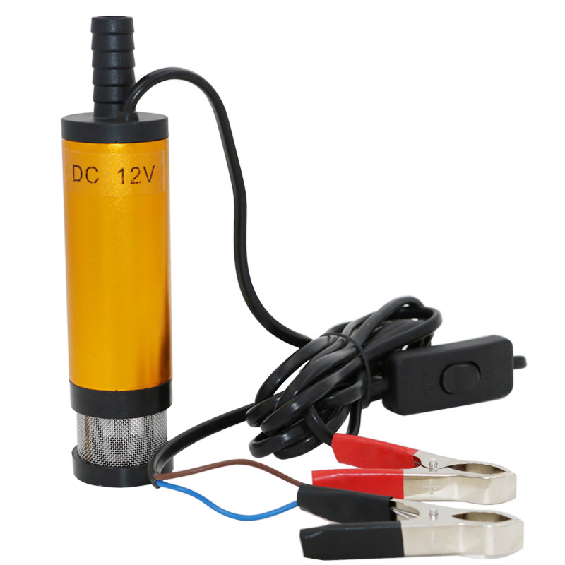 12V 38mm Submersible Pump Water Oil Fuel Transfer Pump For Car Marine Boat TN88