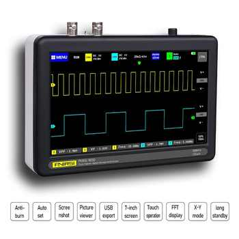 FNIRSI 1013D Digital 2CH 100M Bandwidth 1GS/s Sampling Rate Tablet Oscilloscope