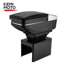 Universal Armlehne Box Zentralen Container Lagerung Box PU Leder Armlehne Box Auto Styling Zubehör Einzel Schicht Dual Schicht