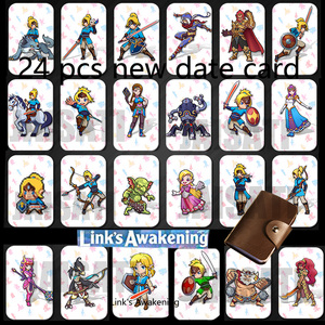 Image 1 - 24pcs NTAG215 Zelda NFC Card 20 Heart Wolf Revali Mipha Daruk Urbosa For amiibo  Game the Legend of Breath of the wild NS Switch