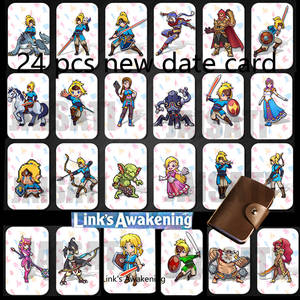 Nfc-Card Amiibo-Game Breath-Of-The-Wild-Ns-Switch Zelda NTAG215 The-Legend 24pcs Urbosa