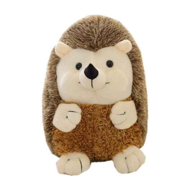 Lovely Soft Hedgehog Animal Doll Stuffed Plush Toy Home Party Wedding Kid Gift Toy Funny Kids 7.25