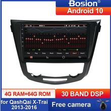 Bosion PX6 Android10 10.1 Inch Car Radio Multimedia Video Player Navigation For 2013 2014 2015 2016 Nissan QashQai X-Trail SWC