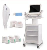Cheap price facelift body slimming face lift machine ultrasound hifu machine for sale with 5 cartridges1.5/3.0/4.5/8.0/13.0mm