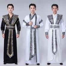 Tangsuit Dynasty Hanfu платье для мужчин традиционная китайская азиатская одежда Танцевальный Костюм праздничные наряды Национальный древний Косплей