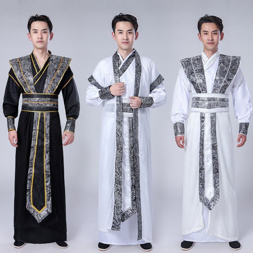 Tangsuit Dynasty Hanfu Dress For Men Traditional Chinese Asian Clothes Dance Costume Festival Outfits National Ancient Cosplay