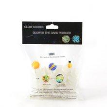 50 шт., Искусственный цветной светящийся камень с флуоресцентным камнем, блестящий камень, полный английский пакет, упаковка для аквариума, ландшафтный дизайн