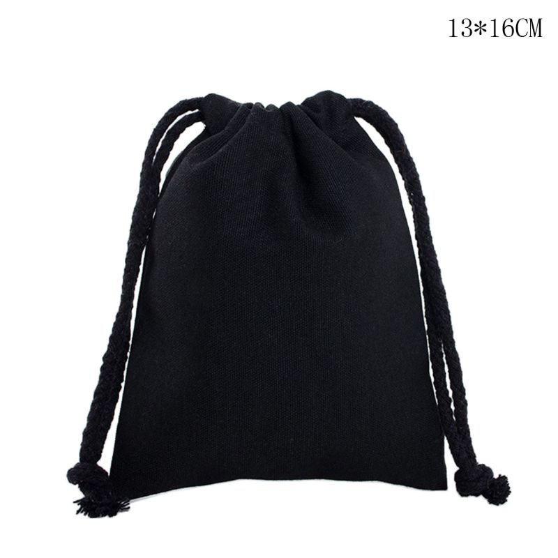 Travel Linen Storage Bag Drawstring Organize Home Pouch Candies DIY Crafts Case