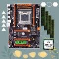 Скидка HUANANZHI X79 материнская плата с M.2 NVMe SSD материнская плата со слотом с процессором Intel Xeon E5 2667 V2 RAM 64G (4*16G) 1866 RECC