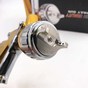 Image 2 - spray gun paint 1.3mm Nozzle GTI PRO Professional HVLP Spray Gun Air Paint Spray Guns Airbrush For Painting Car paint repair