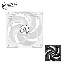 ARCTIC ARCTICP12 4pin PWM White/Black CPU radiator 12cm fan/Computer Case cooler master 120mm fans 1800rpm fluid dynamic bearing