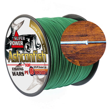 Japan multifilament pe fishing line braided 1000M hollowcore 20LBS-500LBS strength line 0.20mm-2.0mm super big game spoon wire