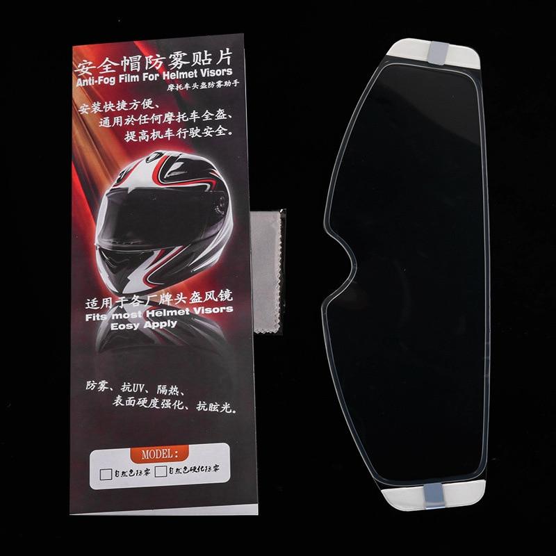 Bettying Motorcycle Helmet Lens Anti-fog Film Clear Visor Lens Sticker Motorcycle Accessories
